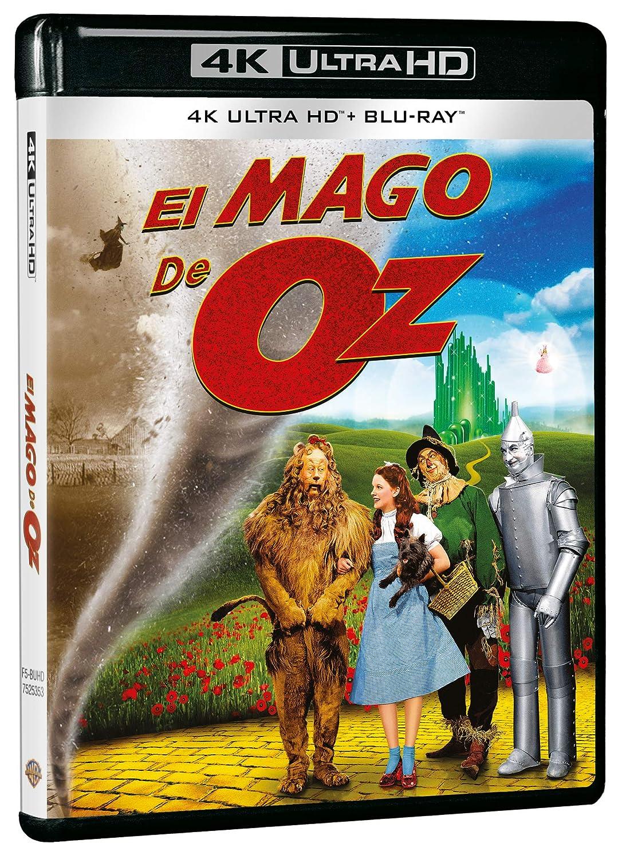 El Mago De Oz Bd Uhd 4k [Blu-ray]: Amazon.es: Judy Garland ...