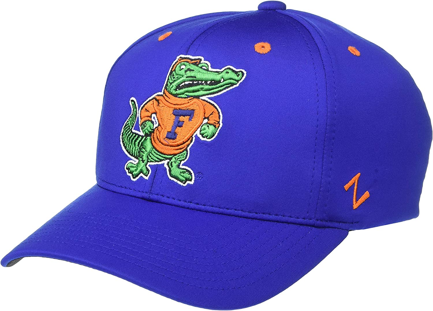 Small NCAA Zephyr Florida Gators Mens Albatross Performance Hat Primary Team Color