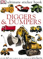 Ultimate Diggers Dumpers Sticker Book (Ultimate