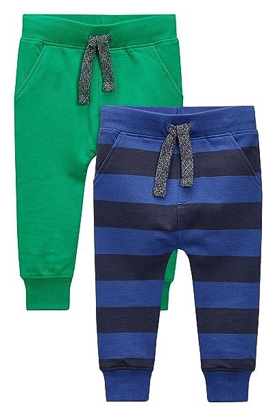 next Niños Infantes Paquete De 2 Pantalones De Chándal Joggers ...