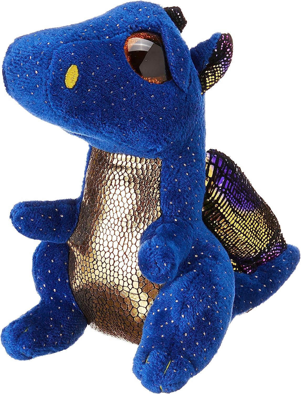 TY- Beanie Boo's Saffire, dragón, Color azul, 15 cm (United Labels Ibérica 36879TY) , color/modelo surtido