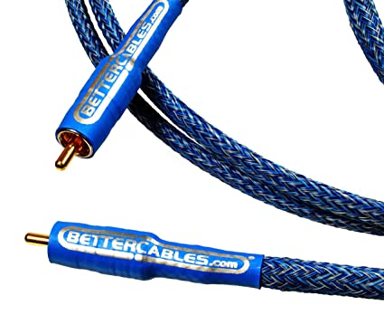Better Cables Blue Truth Digital Coax Cable - High-End, High-Performance,