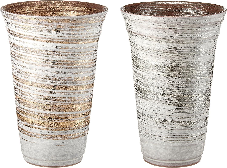 陶器のビアグラス