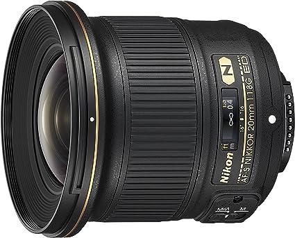 Nikon Lens Nikkor Af S 20 Mm F Camera Photo