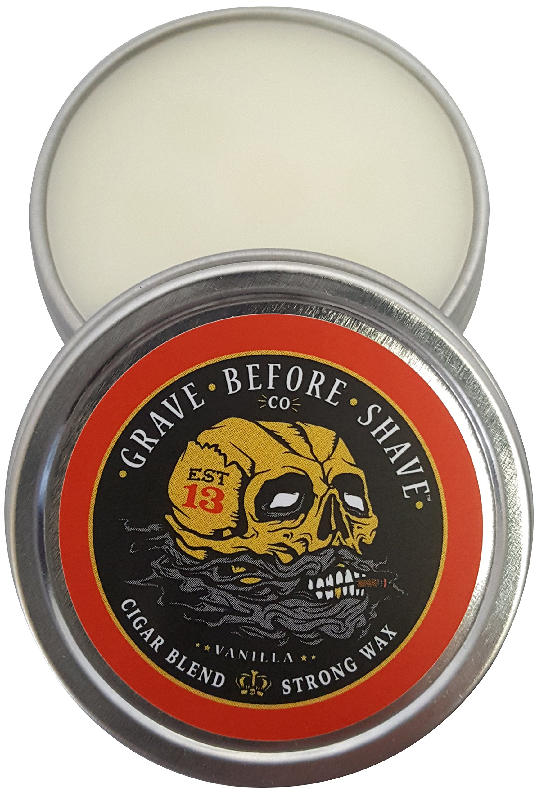 Fisticuffs Cigar Blend Strong Hold Mustache Wax & Moguard combo by Fisticuffs (Image #2)