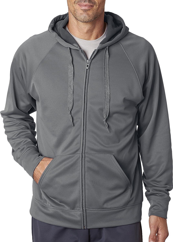 Jerzees mens 6 oz. Sport Tech Fleece Full-Zip Hood (PF93MR)