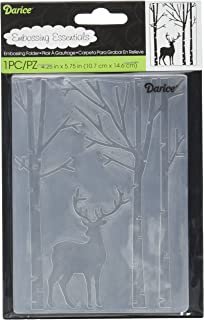 Deer Heads Darice Embossing Folder 4.25 X 5.75 Inches