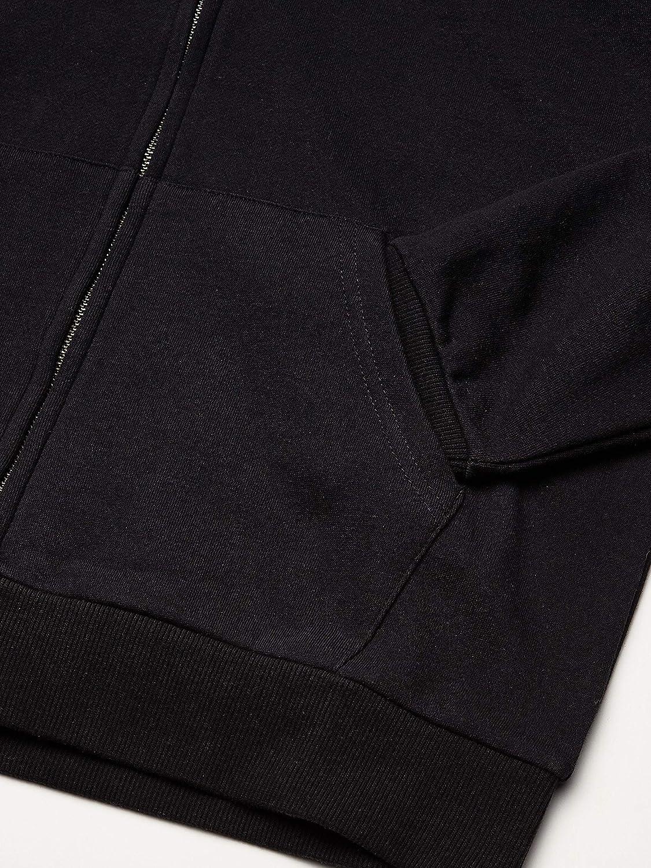 BRIXTON Mens Grade V Standard Fit Full Zip Hooded Fleece