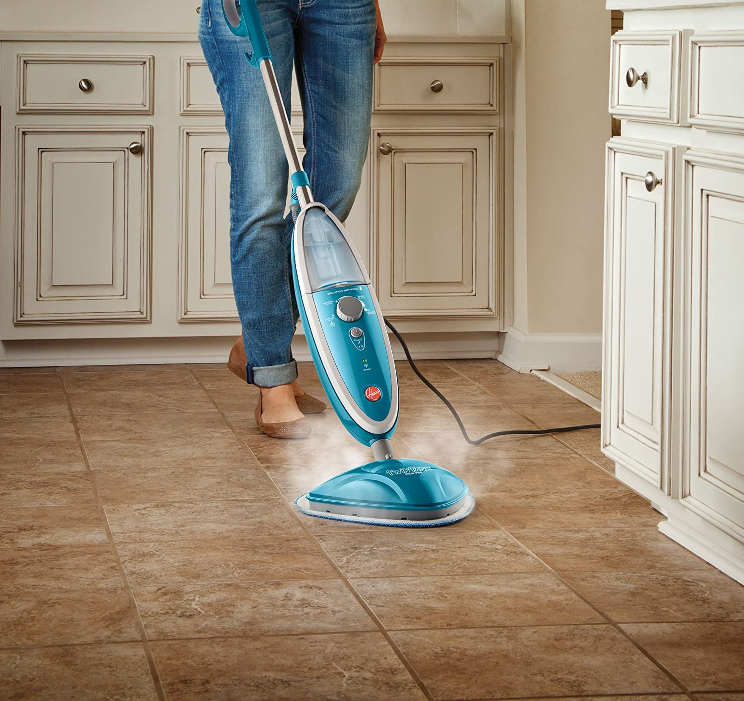 Amazon.com: Hoover Steam Mop TwinTank Steam Cleaner WH20200: Home U0026 Kitchen