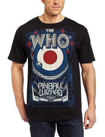 Amazon.com: Liquid Blue Men's The Who Pinball Wizard T-Shirt ...