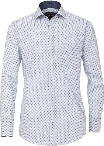 Casa Moda - Camisa formal - Cuello Kent - para hombre: Amazon.es: Ropa y accesorios