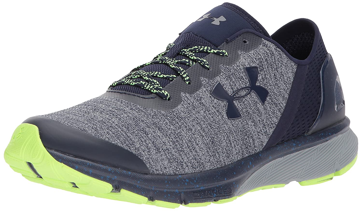 Under Armour Men's Charged Escape Running Shoe B0758HHMBR 7 M US|Midnight Navy/Royal
