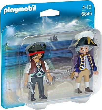 PLAYMOBIL Duo Pack - Duo Pack Pirata y Soldado (6846): Amazon.es ...