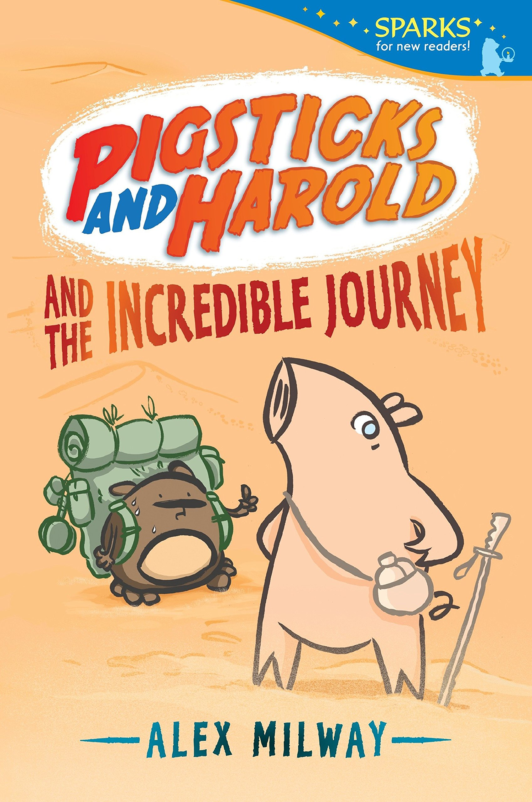 Pigsticks and Harold and the Incredible Journey (Candlewick Sparks) pdf