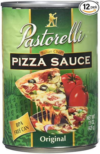Amazon Com Pastorelli Pizza Sauce Italian Chef 15 Ounce Pack Of 12 Grocery Gourmet Food