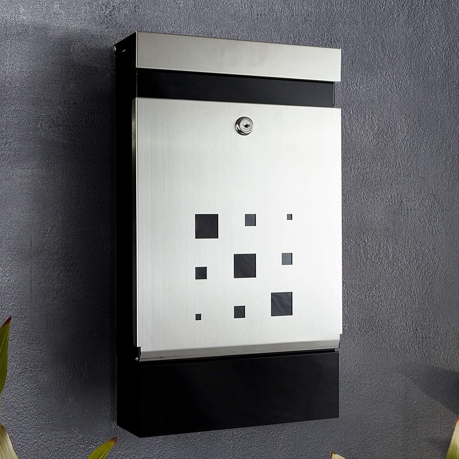 Mailbox Premium Weather-Resistant Wall-Mounted CA186 Architectural Design