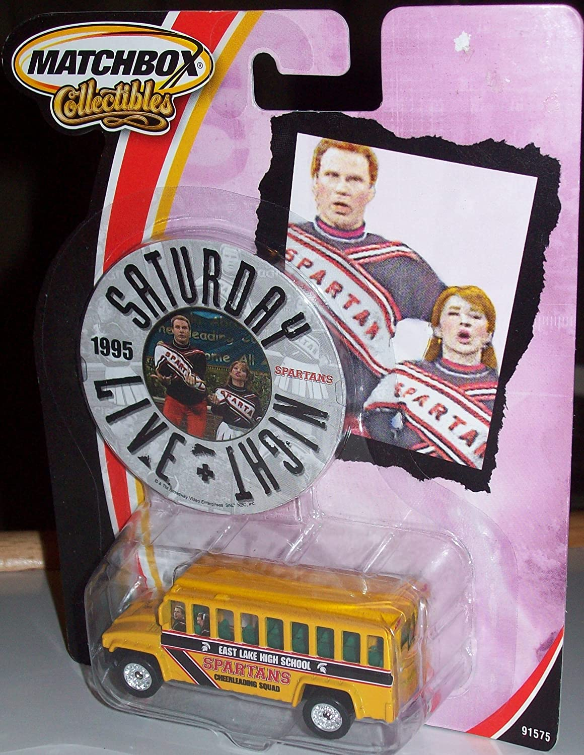MATCHBOX COLLECIBLES 1995 SATURDAY NIGHT LIVE SPARTANS BUS by Saturday Night Live