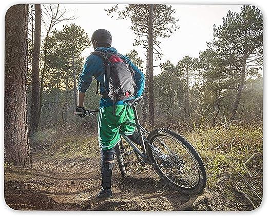 NA Mountain Bike Mouse Mat Pad - Biker BMX Trail Bikes Cool Fun ...