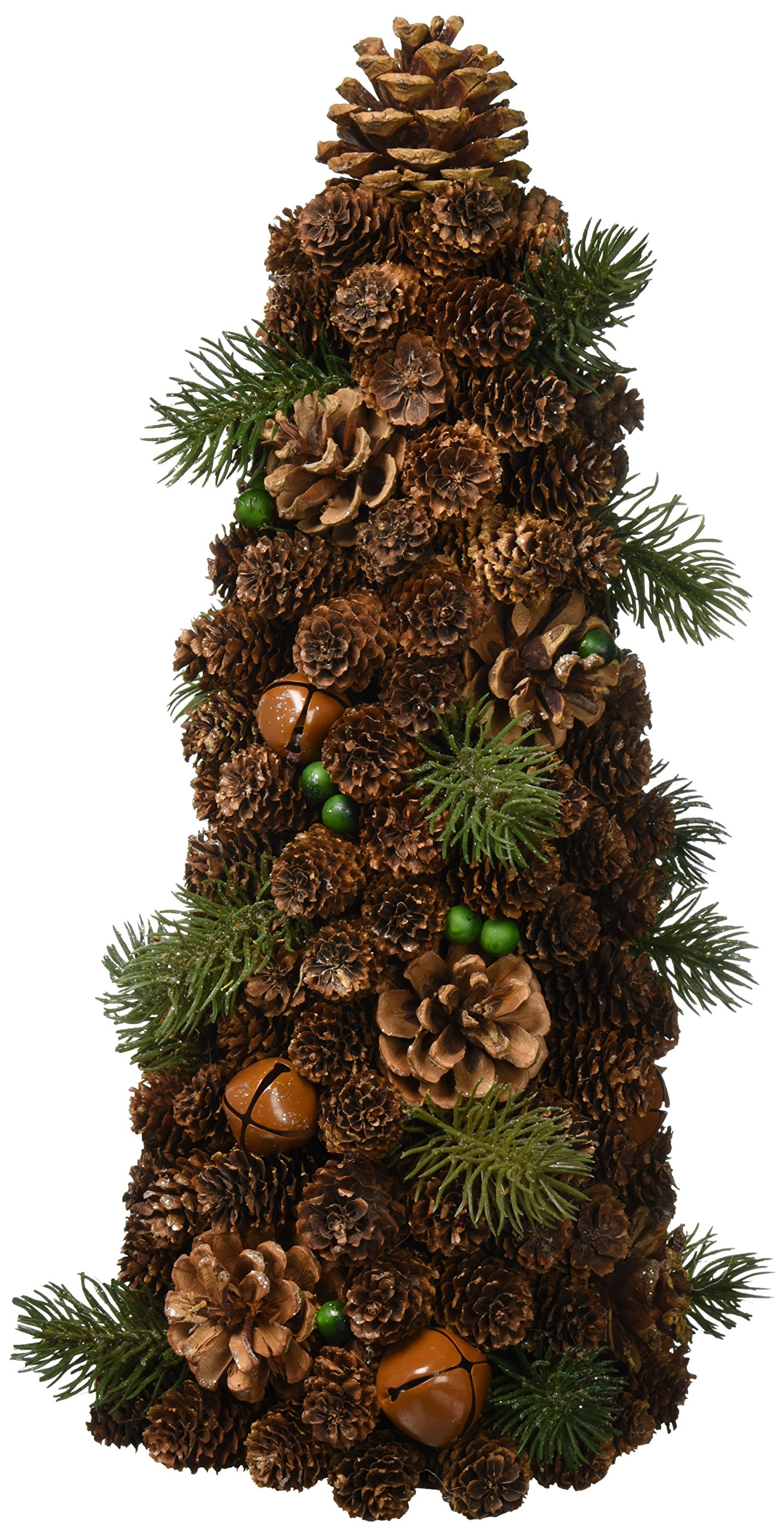 Koehler 10016130 14.5 Inch Pine Cone Small Tree Decor