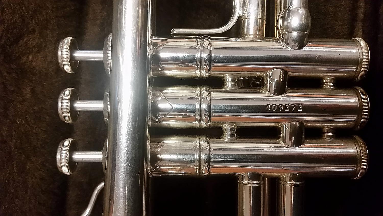Genuine Bach Stradivarius Bb 180 Leadpipe Lightweight Reverse Silver NEW #25LR
