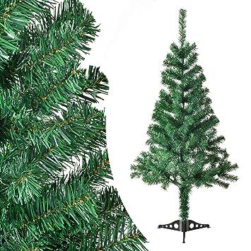 Tannenbaum 120 Cm.Juskys Künstlicher Weihnachtsbaum Tannenbaum 120 Cm Grün Inkl Ständer