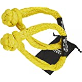 Set of Two 5/16 Synthetic Soft Rope Shackles w/Free Storage Bag, 22,000lbs+