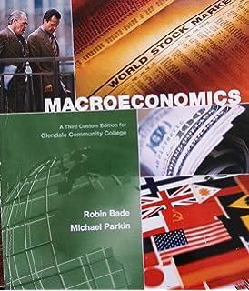 Foundations of macroeconomics 9780321178589 economics books macroeconomics third edition for glendale community college fandeluxe Choice Image