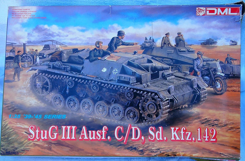 Stug III Ausf. C/D, Dragon Nr. 6009, M 1:35