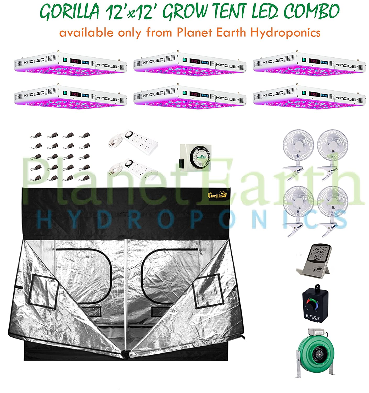 Gorilla Grow Tent u2013 12 x 12 Foot with complete package  sc 1 st  Buy Cheap Grow Tents & All About Gorilla Grow Tent u2013 12 x 12 Foot u2013 Buy Cheap Grow Tents