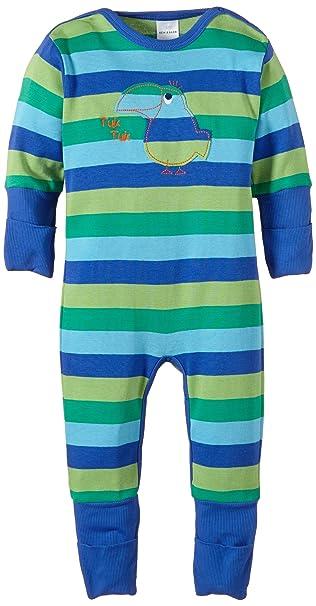 Schiesser Baby Anzug Fuss - Pijama de dos piezas para bebé, talla 6 meses (