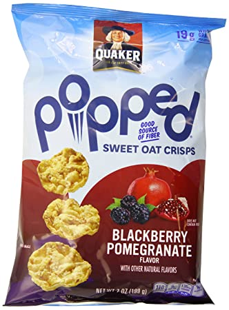 Amazon.com: Quaker Popped Rice Crisp Snacks, Blackberry ...