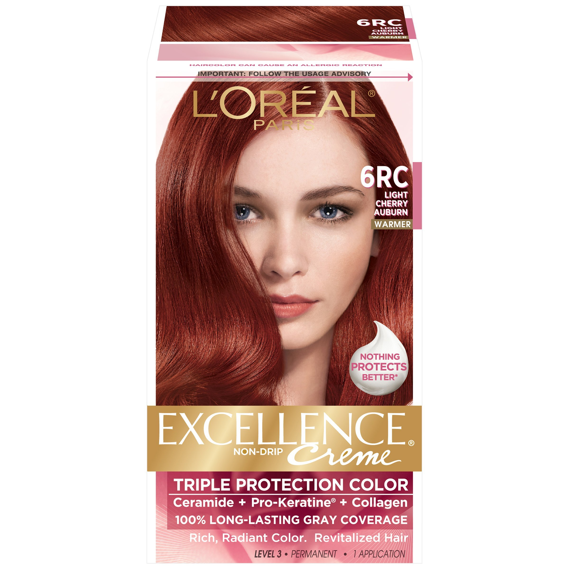 Amazon Loreal Paris Excellence Creme 6rc Light Cherry Auburn