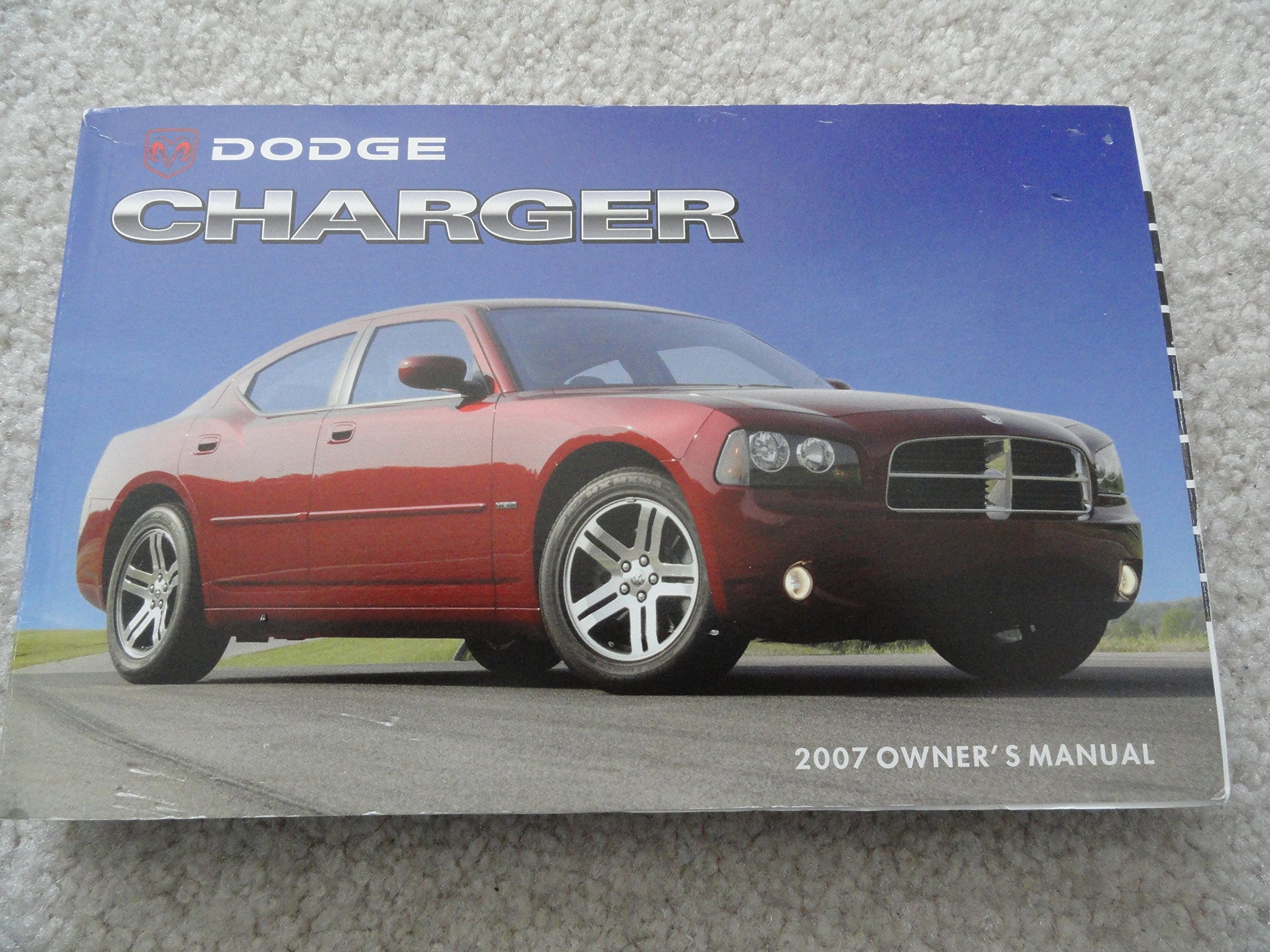 2007 dodge charger owners manual dodge amazon com books rh amazon com 2007 Dodge Charger Manual Interior 2007 Dodge Charger Manual Book
