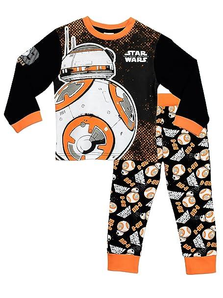 e562f33e2cd Star Wars - Pijama para Niños de BB8  Amazon.es  Ropa y accesorios