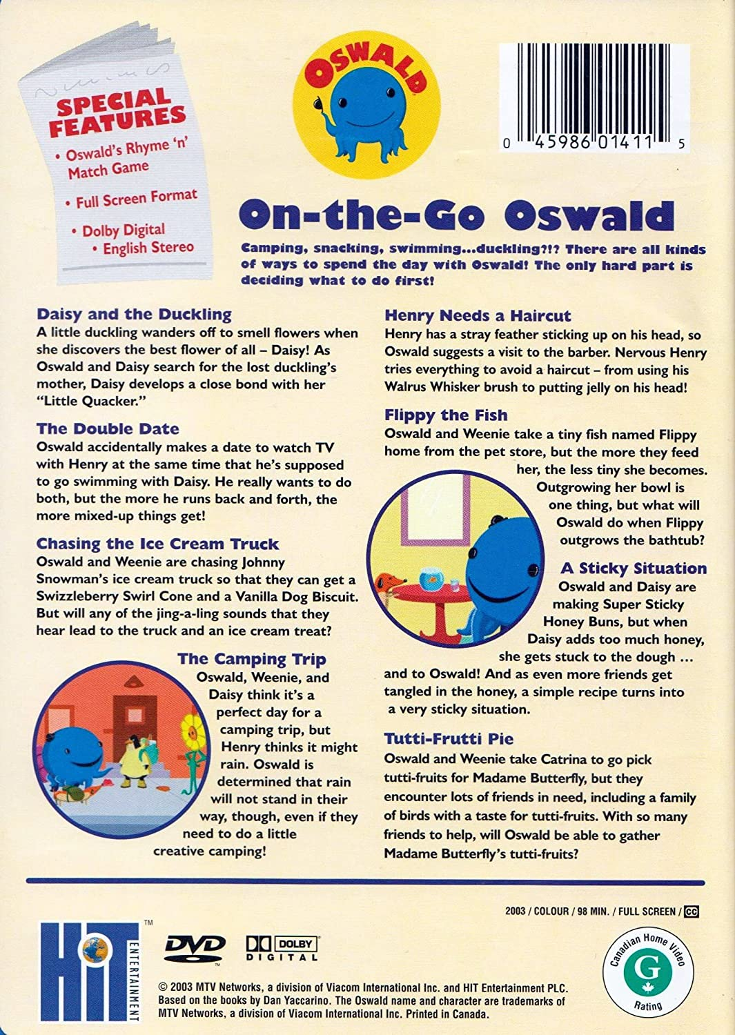Amazon.com: On The Go Oswald: Fred Savage, Debi Derryberry ...