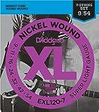 D'Addario EXL120-7 Set Corde Elettrica EXL