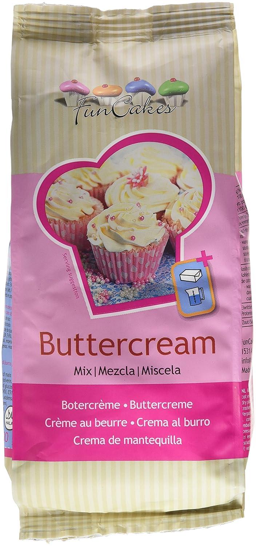 FunCakes Mezcla para Crema de Mantequilla - 500 gr: Amazon.es: Alimentación y bebidas