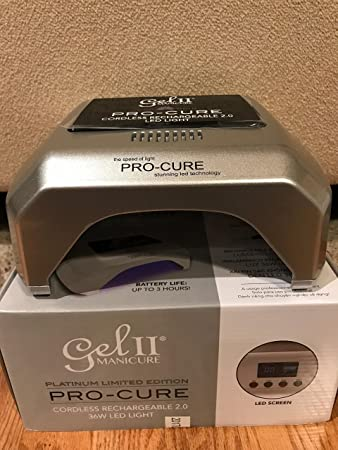 Amazon.com: Gel II Pro-Cure 2.0 inalámbrico recargable ...