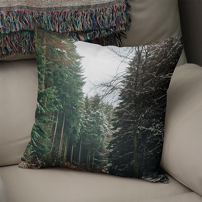 Westlake Art Tree Woodland - Cojín Decorativo para Manta ...