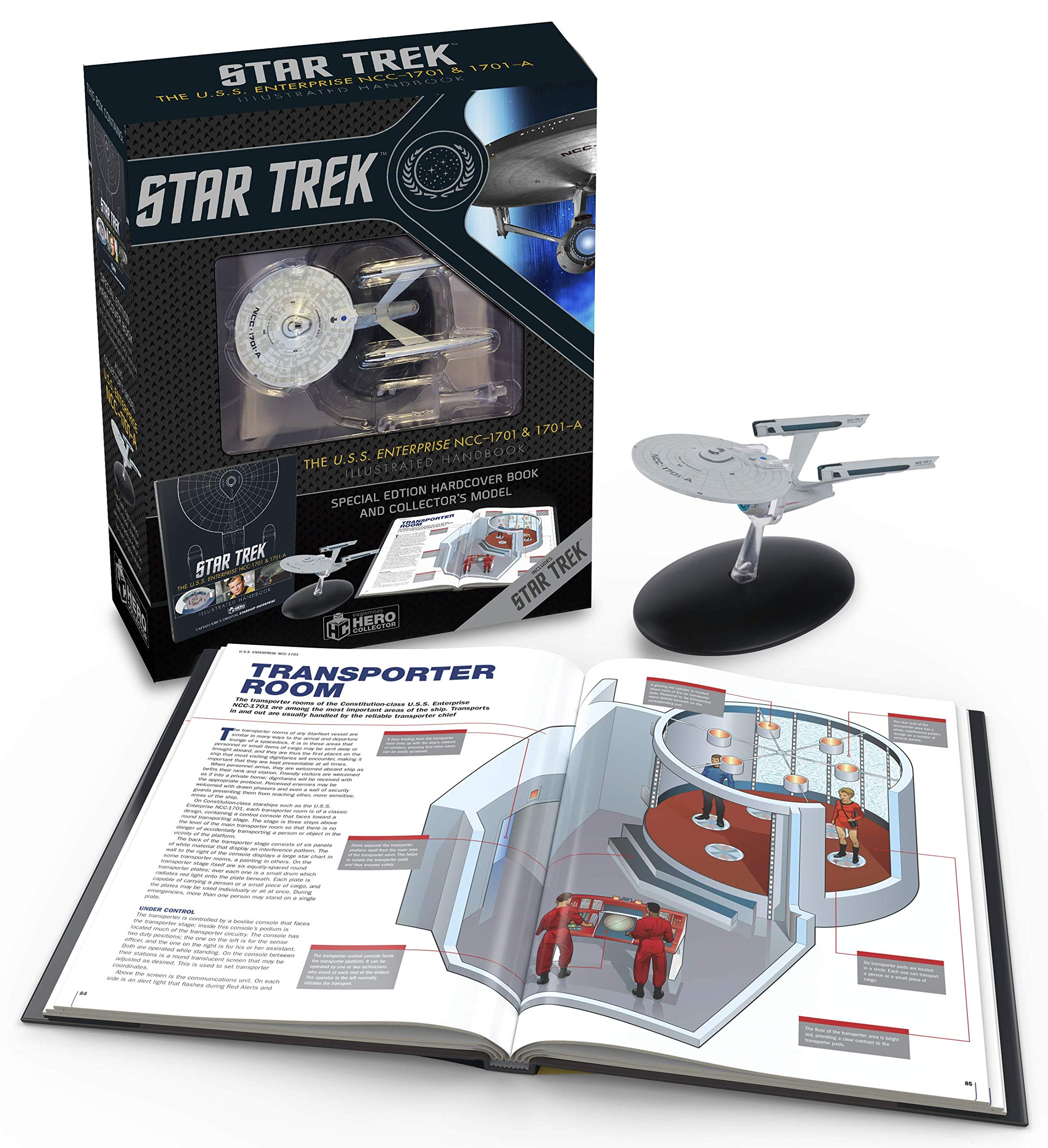 Pack: Star Trek. The U.S.S. Enterprise NCC-1701. Illustrated Handbook + Collectible Star Trek Illustrated Handbook: Amazon.es: Robinson, Ben, Robinson, Ben: Libros en idiomas extranjeros