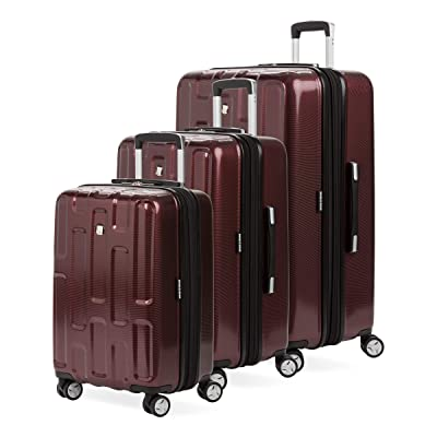 SWISSGEAR 7796 3-Piece Expandable Hardside Spinner Luggage