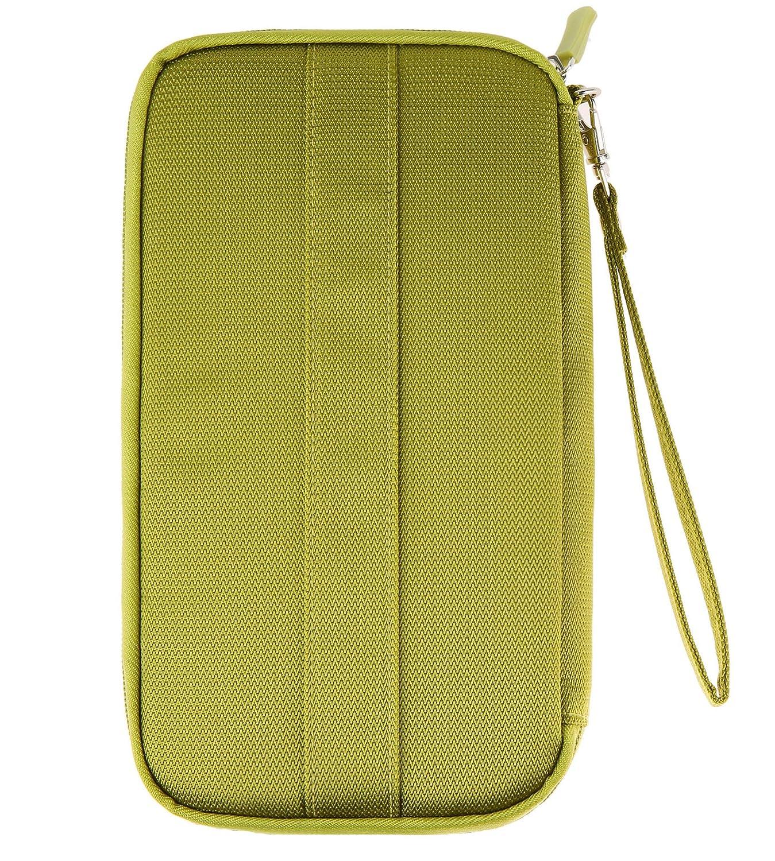 Fairycece Portefeuille Passeport Vert Waterproof Green