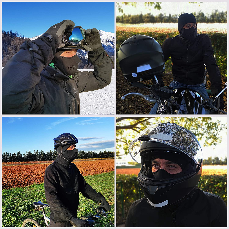 ski,accesorio de invierno bicicleta Pasamonta/ñas de neopreno 4 en 1,moto Ext-Tek