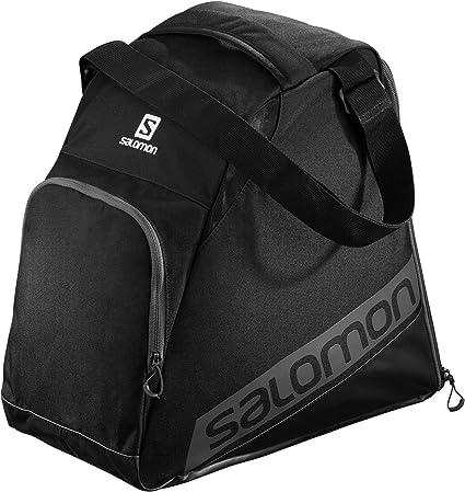 Black//Black//White Salomon Unisex Extend Gear Bag One Size
