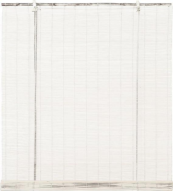 Stor Planet Ocres Estores, Bambú, Blanco, 90 x 175 cm: Amazon.es: Hogar