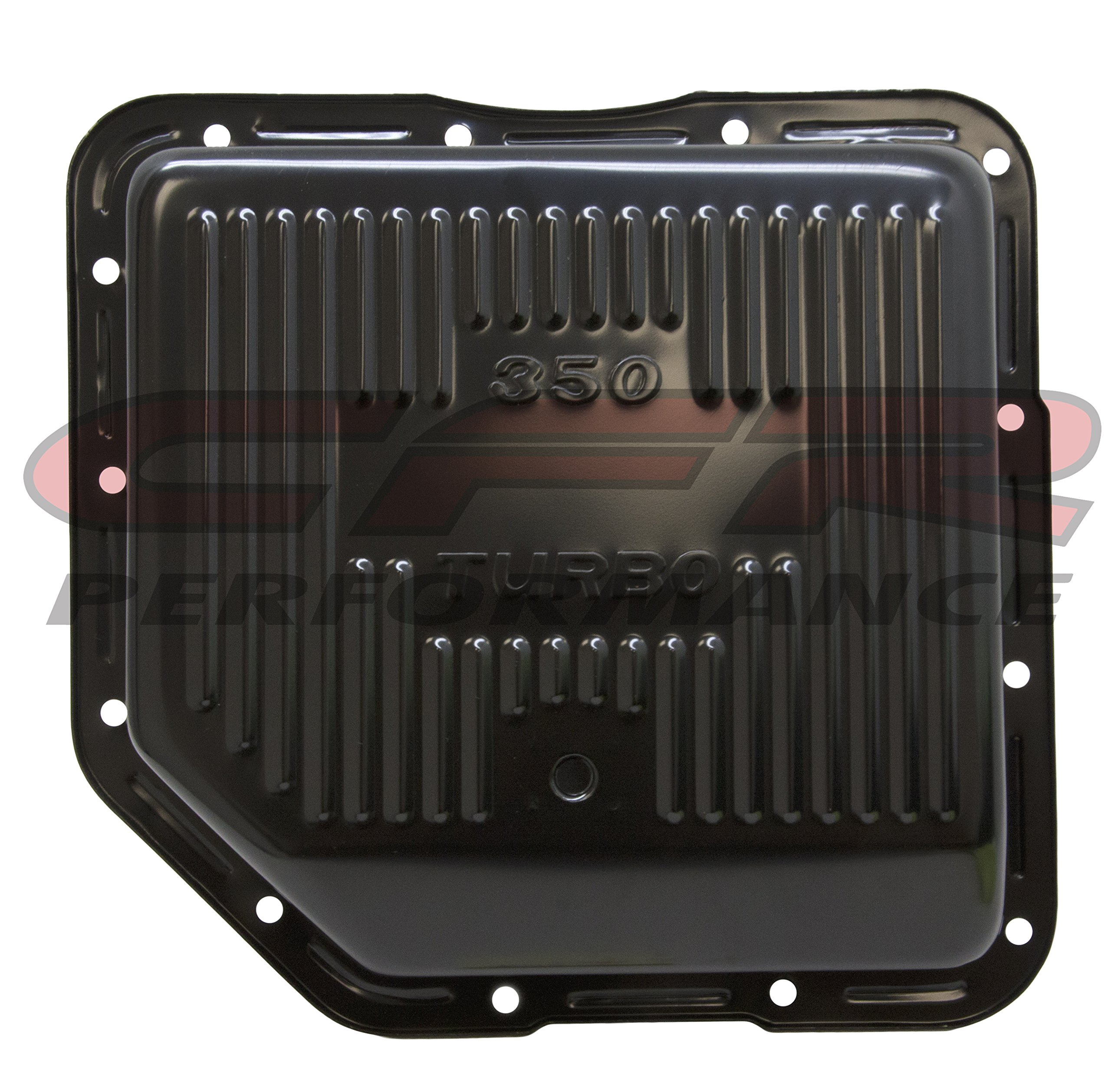 Compatible/Replacement for CHEVY/GM TURBO TH-350 STEEL TRANSMISSION PAN - BLACK