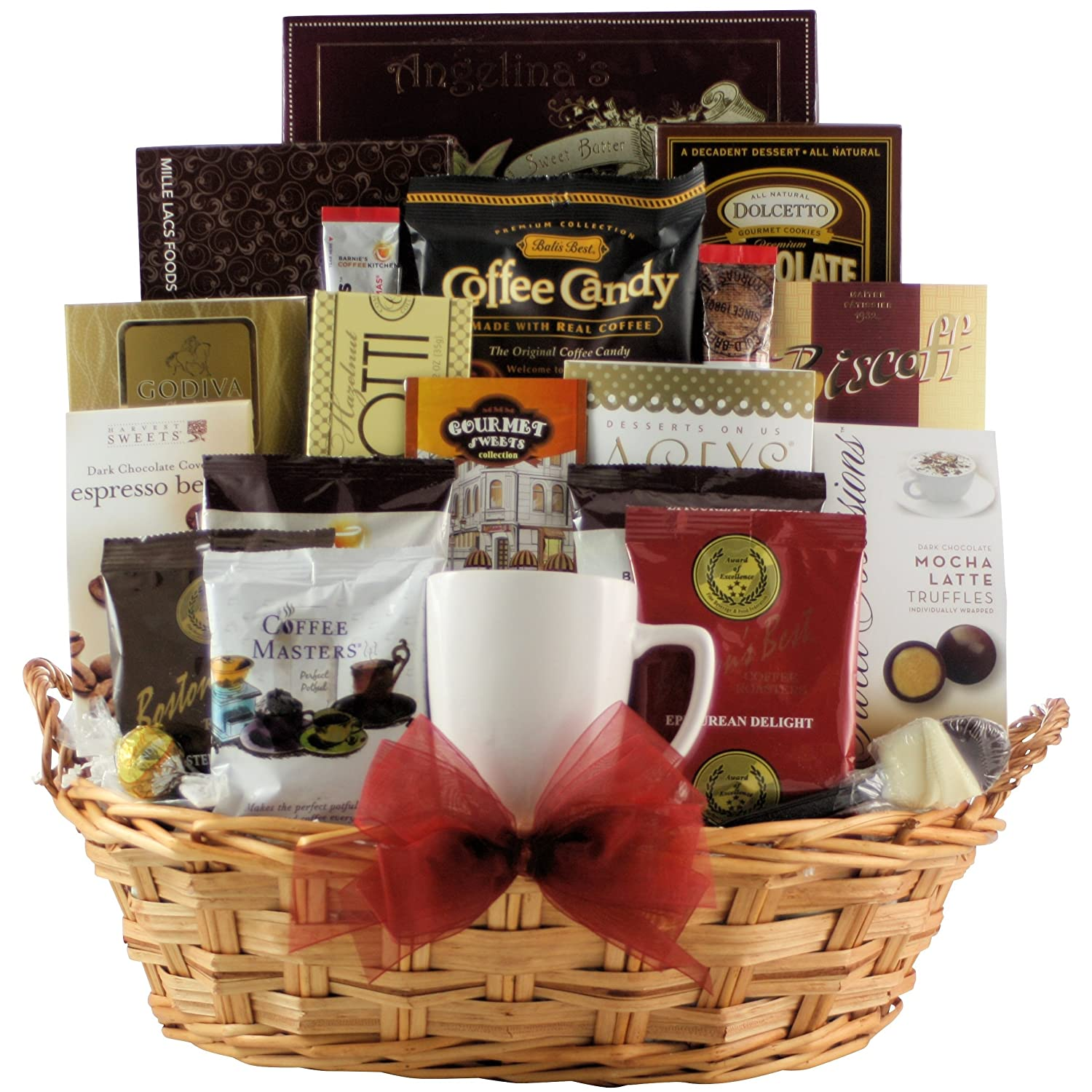 CDM product GreatArrivals Gift Baskets For the Love of Coffee: Gourmet Coffee Gift Basket, 3.18 Kilogram big image