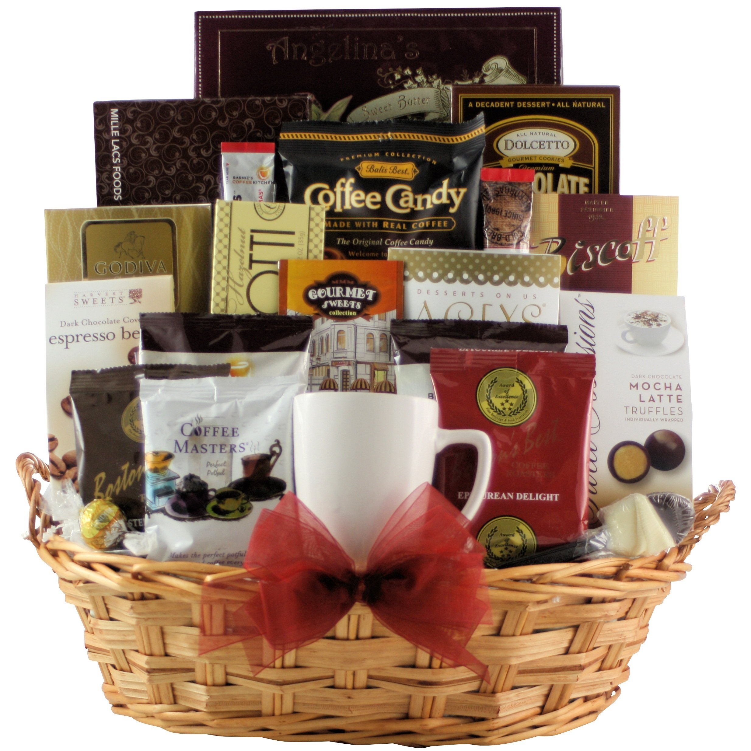 CDM product GreatArrivals Gift Baskets For the Love of Coffee: Gourmet Coffee Gift Basket, 3.18 Kilogram small thumbnail image