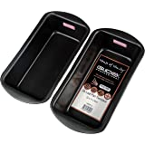 GlideX Professional 2lb Non Stick Loaf Bread Tin Twin Pack by House of Henley