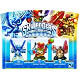 Skylanders - Triple Pack F: Double Trouble, Whirlwind, Drill Sergeant